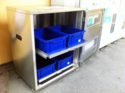 使用済み食用油の回収BOX